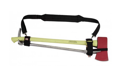 Axe/Bar Carry Straps With Shoulder Strap