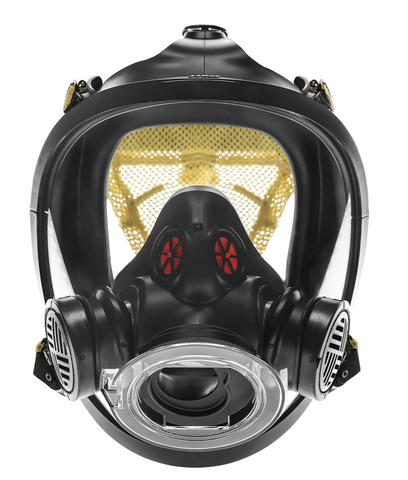 AV-3000 HT Facepiece with Kevlar Head Harness - 5-Strap
