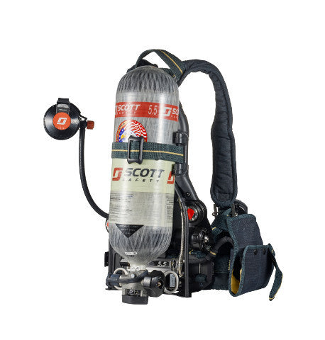 4500 Psi Air Pak X3 With Integrated Pass Alarm Hud Pak