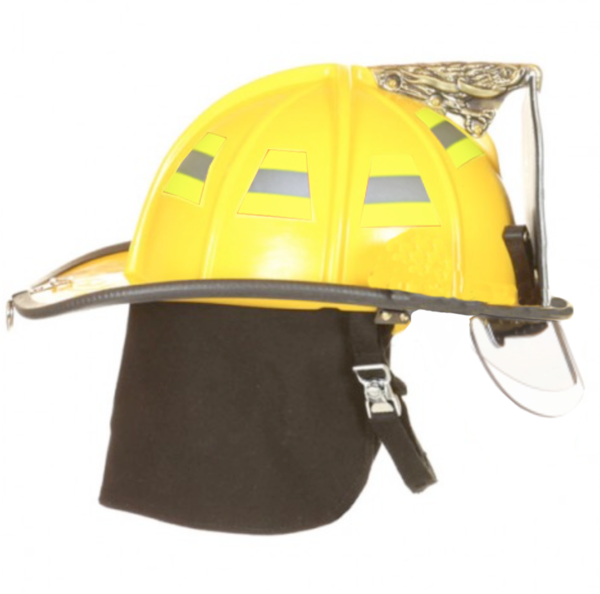 Traditional Deluxe Helmet- Flip Downs Only (Non-NFPA)