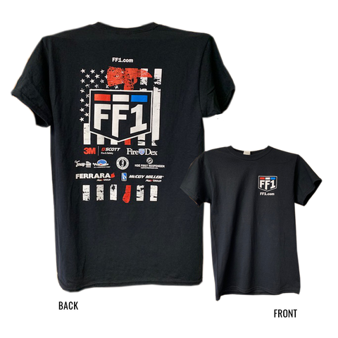 2018 FF1 Thin Red Line Axe T-Shirt