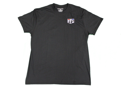 FF1 Black Short Sleeve Shirt - XL