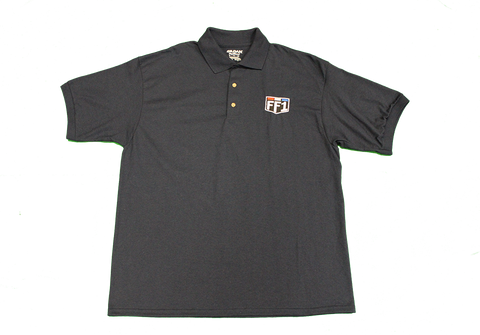 FF1 Shield Dark Navy Polo