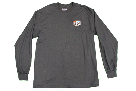 FF1 Dark Navy Long Sleeve Shirt
