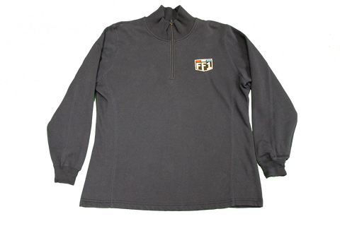 FF1 Ladies Pull Over Navy Sweatshirt - 2XL
