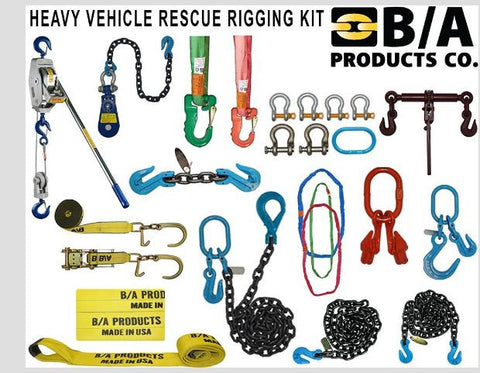 Heavy Vehicle Rescue Rigging Kit