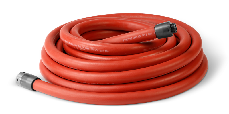 Fire Engine Booster Hose Red (800 PSI Working Pressure)