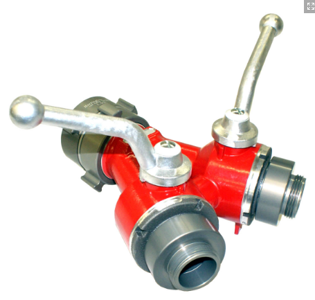 H201-Small 2-Way Ball Valve (Leader Line Wye)