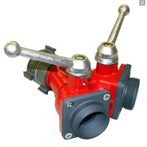 H202-Mid Size 2-Way Ball Valve (Leader Line Wye)