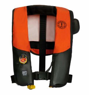 Inflatable PFD w/HIT  (Auto Hydrostatic) & Customizable Back Flap - Law Enforcement