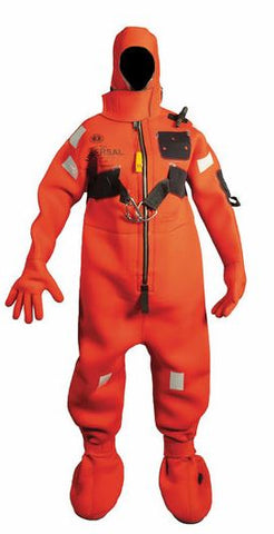Neoprene Cold Water Immersion Suit with Harness & Buddy Line