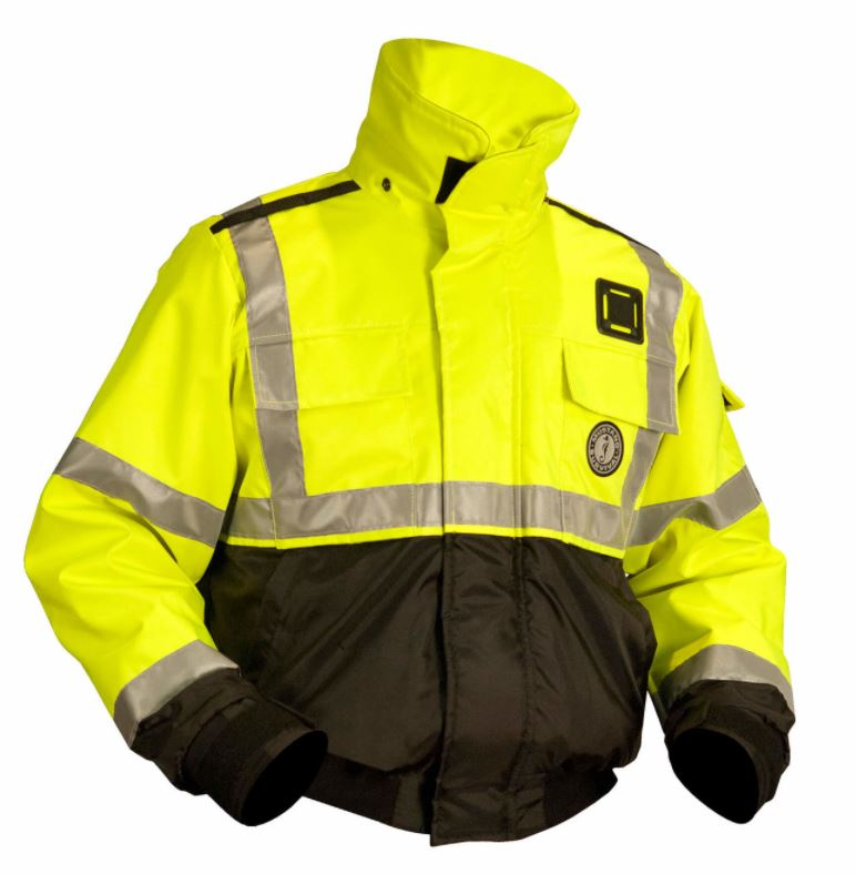 High Visibility Flotation Bomber Jacket