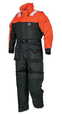 Deluxe Anti-Exposure Coverall and Worksuit Orange / Black S-XXL