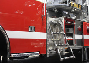Quic-Ladder - 12 in. Width Swing Out & Down Vehicle Ladder