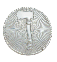 1 Axe Hat Badge