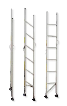 FL Series Aluminum Folding Attic Ladder - 10'