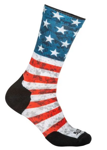 Sock & Awe Crew - American Flag