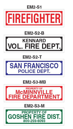 Equipment Markers