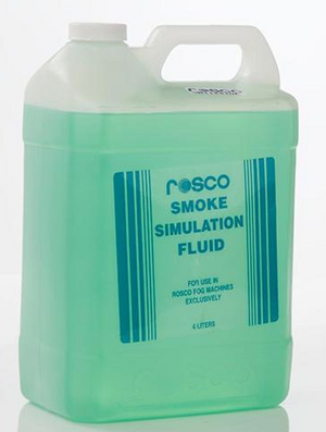 Rosco Smoke Fluid (Shadow 1/Nightfall/Blackout Only) 4 Liters /  4 Bottles