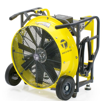 "Variable Speed Electric Power Blower - 24"" Diameter"