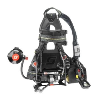 4500 PSI Air-Pak X3 with Standard Harness,  Hud & Gauge ONLY, & NO Pass Device