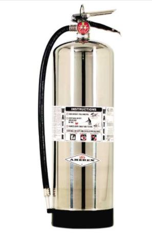 Amerex AX240 Water Fire Extinguisher - 2 1/2 gallon Water Can