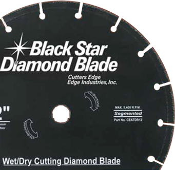 Black Star Diamond Blades