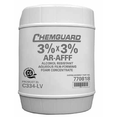 Chemguard 3% x 3% AR-AFFF, Low Viscosity Foam