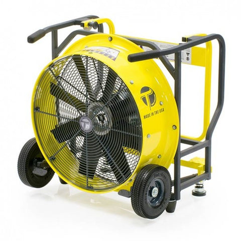 "Single Speed (SS) Electric Positive Pressure Ventilation (PPV) 18"" DIameter / 1.0 HP"
