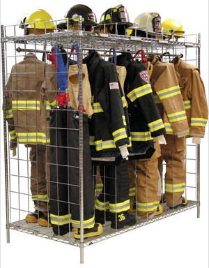 Double Sided Freestanding Ready Rack