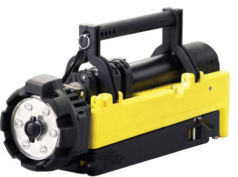Portable Scene Light - 120V AC/12V DC - Yellow