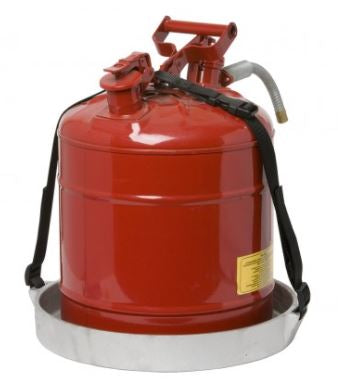 ROUND HOLDER FOR 5-GALLON SAFETY CAN