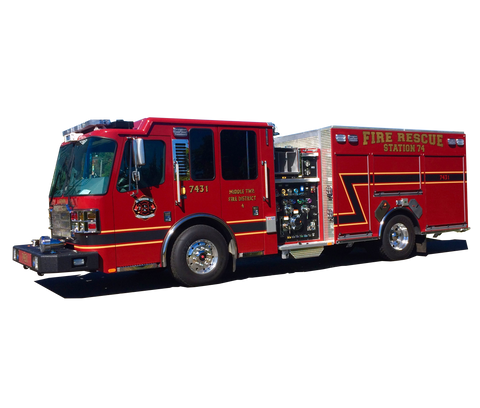 Ferrara Fire Apparatus Side Mount Pumper - New Jersey