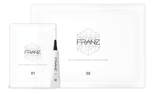[Franz] Active Ingredients Infusion Dual Mask 5 EA