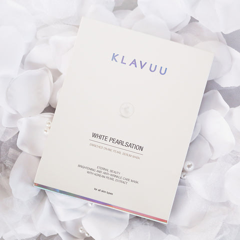 [KLAVUU] WHITE PEARLSATION Enriched Divine Pearl Serum Mask-5EA