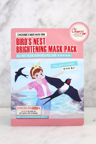 Bird's Nest Brightening Mask - Keauty Picks
