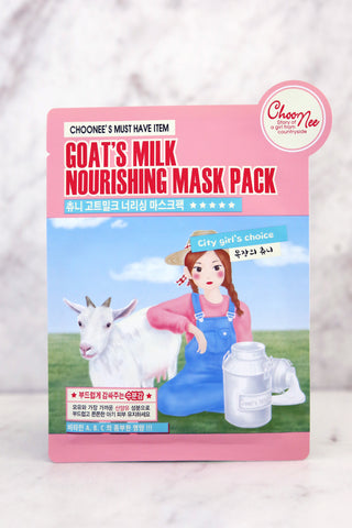 Goat's Milk Nourishing Mask - Keauty Picks