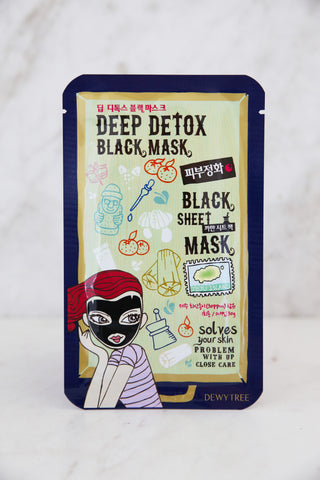 Deep Detox Black Mask - Keauty Picks