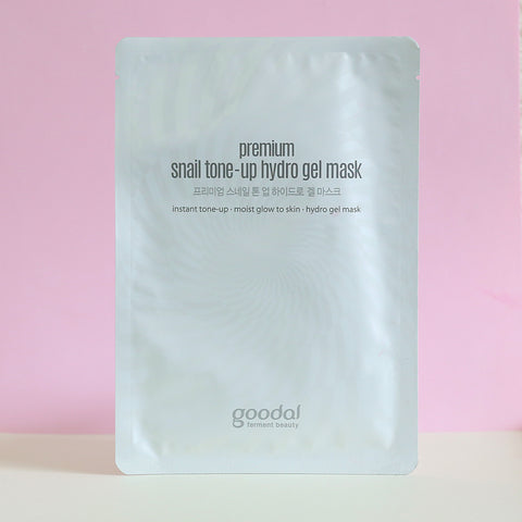 Premium Snail Tone Up Hydro Gel Mask