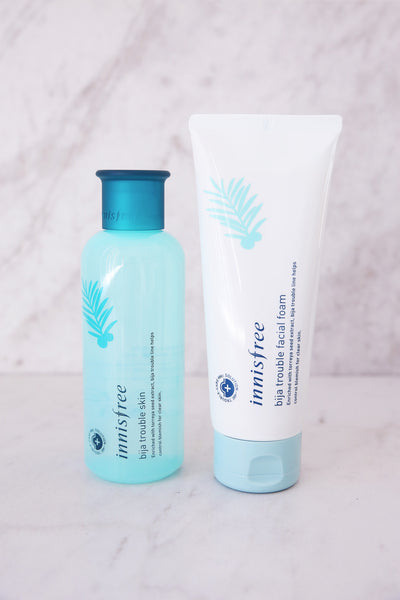 [INNISFREE] Bija Trouble Facial Foam Cleanser