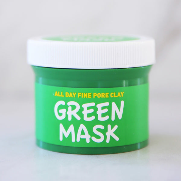 One Day Fine Pore Clay Green Mask - Keauty Picks