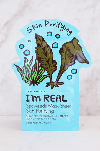 I'm Real Seaweeds Mask Sheet - Skin Purifying - Keauty Picks