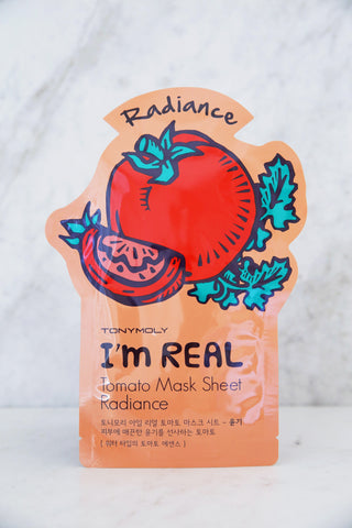 I'm Real Tomato Mask Sheet - Radiance - Keauty Picks