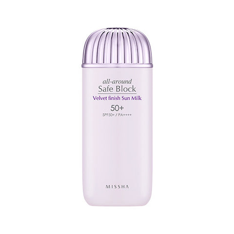 [MISSHA] All Around Safe Block Velvel Finish Sun Milk SPF50+/PA+++ (70ml)