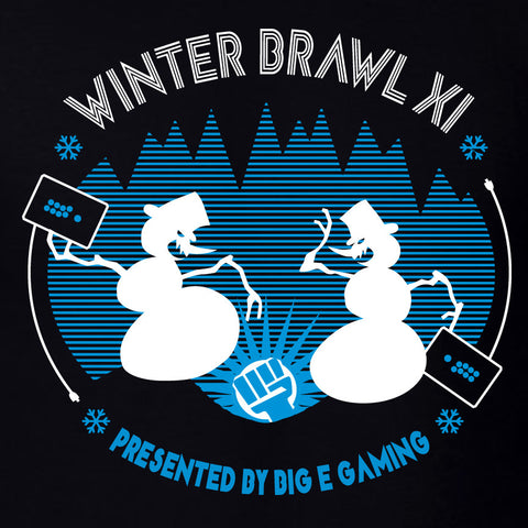Winter Brawl XI Official Event Shirt