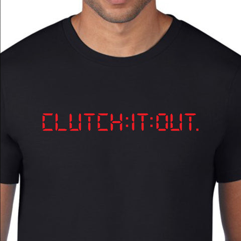Clutch It Out brand shirt design