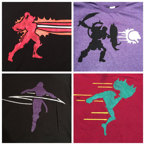KI-inspired Customizable Character Icon Shirts