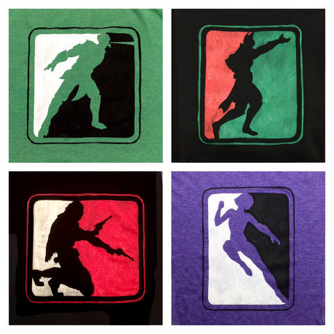 MKX-inspired Customizable Character Icon Shirts