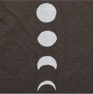 Moon Phases Ladies Racerback Tank - Medium