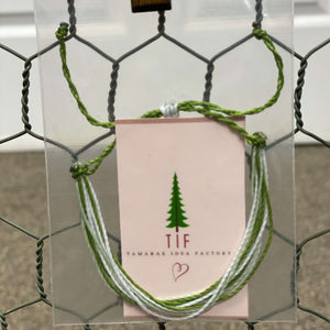 Adjustable String Bracelets by Tamarack Idea Factory,Lime in the Coconut,Jewelry,LeleGray.com